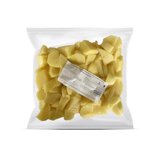 Zemiak čistený štvrťky chladený 1kg/bal 1