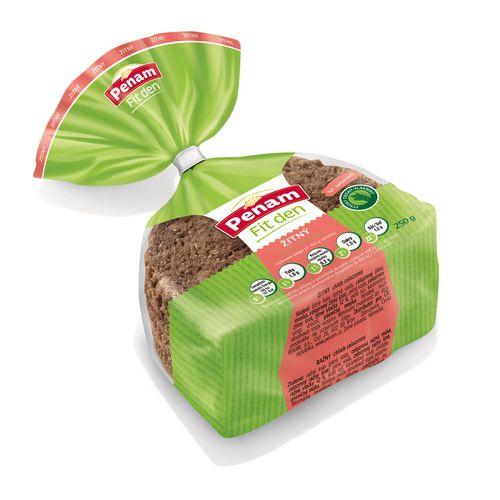 Chlieb ražný celozrnný FIT PENAM 250g VÝPREDAJ 1