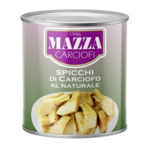 Artičoky krájané prírodné MAZZA 2,5kg 7