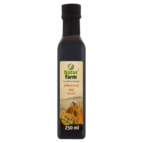 Olej tekvicový Natur Farm 0,25 l 1