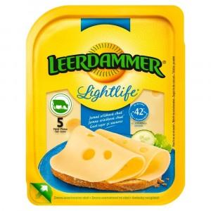 Syr LEERDAMMER lightlife plátky 30% 100g OA 4