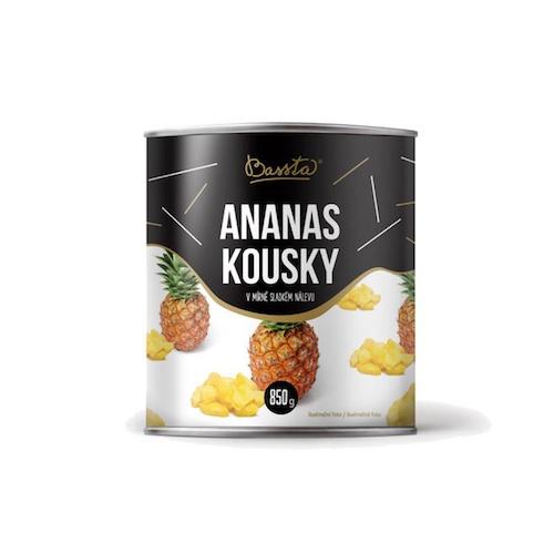 Ananásový kompót kocky 850ml 1