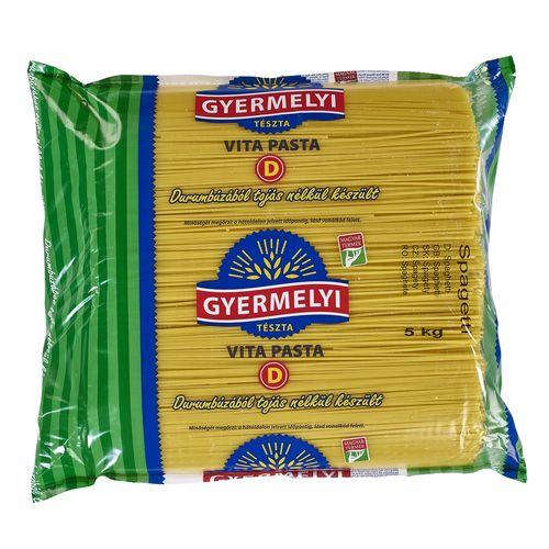 Cestoviny GYERMELYI Špagety semolinové 5kg 1