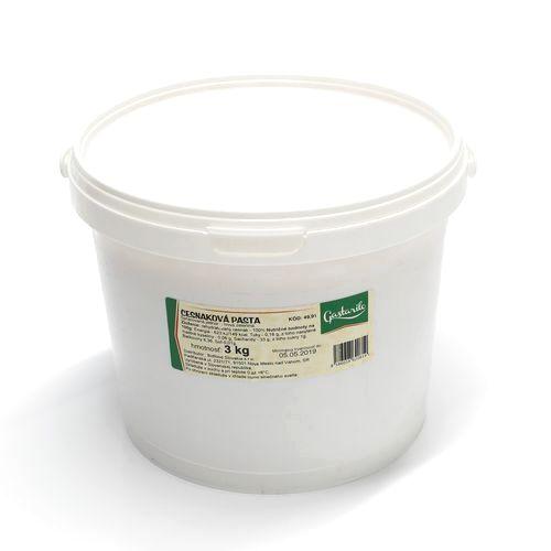 Cesnaková pasta bez soli 3 kg vedro 1