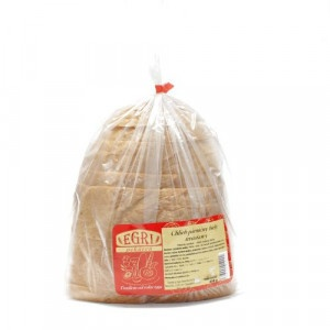Chlieb kváskový biely krájaný balený EGRI 450g 5