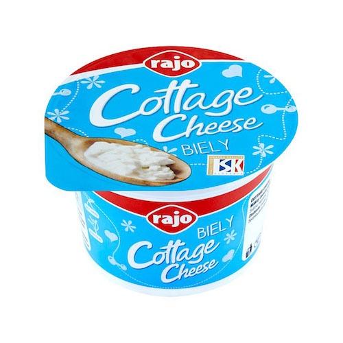 Cottage cheese biely RAJO 180g VÝPREDAJ 1