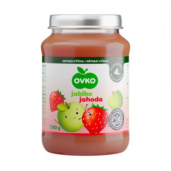 Detská výživa jahodová OVKO 190g 1