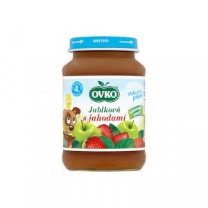 Detská výživa jahodová OVKO 190g 2