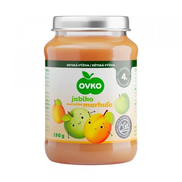 Detská výživa marhuľová OVKO 190g 1