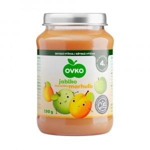 Detská výživa marhuľová OVKO 190g 7