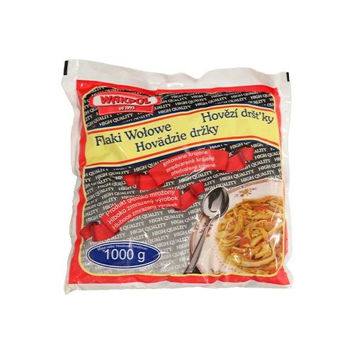 Držky hovädzie predvarené mrazené 1kg 1