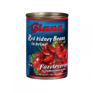 Fazuľa červená sterilizovana GIANA 425ml 7