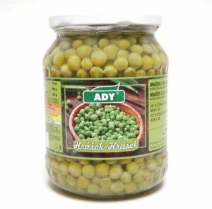 Hrášok sterilizovaný ADY 720ml 12