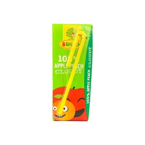 Jablková šťava s broskyňou 100% 0,2l / 1 porcia 1