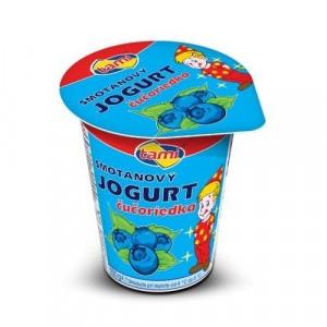 Jogurt čučoriedkový TAMI 150g 4