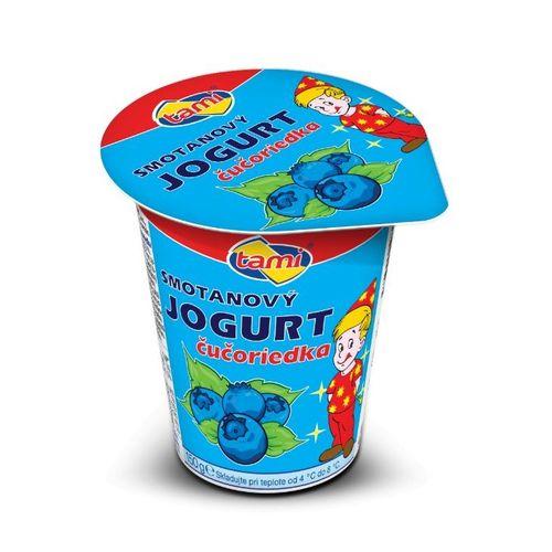 Jogurt čučoriedkový TAMI 150g 1
