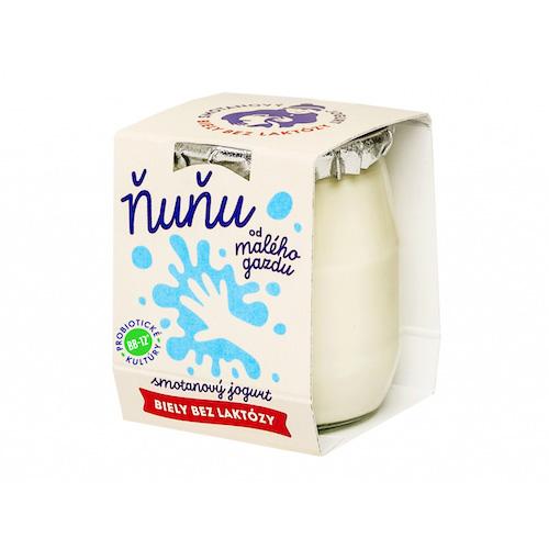 Jogurt smotanový biely bifidový delaktózovaný 115g 1