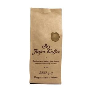 Káva Jager Kaffee hnedá 70% Arabica 1kg zrno 2