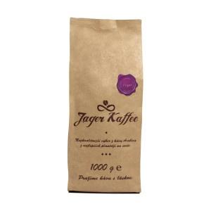 Káva Jager Kaffee fialová 90%Arabica 1kg zrno 2