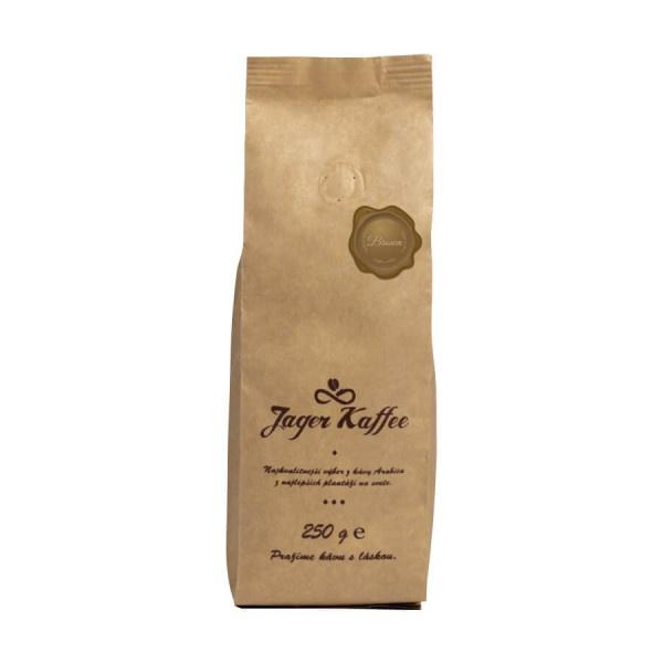 Káva Jager Kaffee hnedá 70% Arabica 250g mletá 1