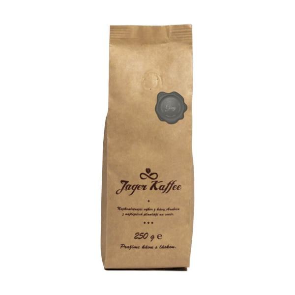Káva Jager Kaffee sivá 60% Arabica 250g mletá 1