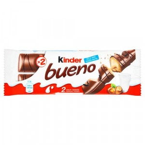 Kinder Bueno v mliečnej čokoláde 2 x 21,5 g 2