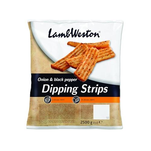 LW Hranolky Dipping Strips cib.-čier.kor.mraz2,5kg 1