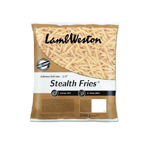 LW Hranolky Stealth Fries 6x6 mrazené 2,5 kg 1
