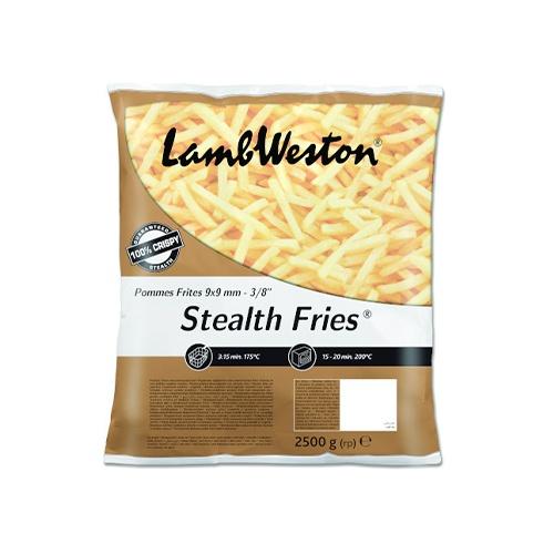 LW Hranolky Stealth Fries 9x9 mrazené 2,5kg 1