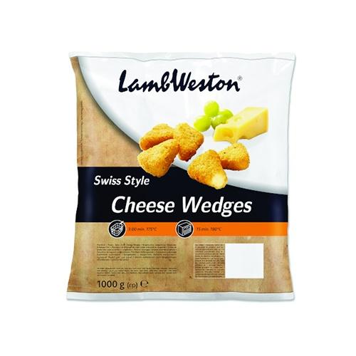 LW Švajčiarske syrové trojhrančeky mrazené 1kg 1