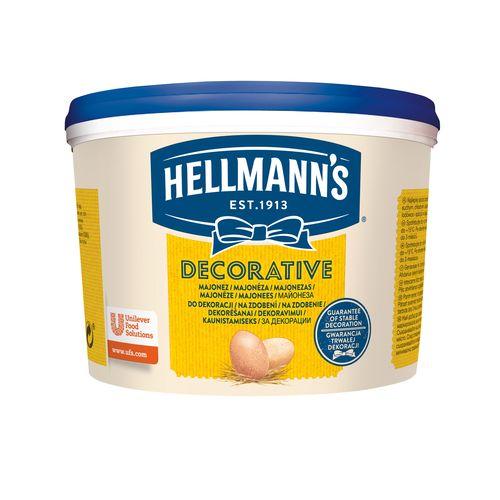 Majonéza HELLMANS DECORATIVE 3kg 1