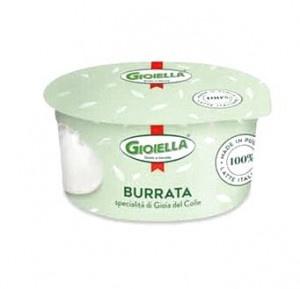 Mozzarella Burrata GIOIELLA 125g 6