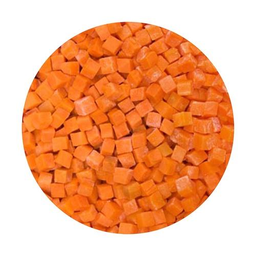 Mrazená mrkva kocky 2,5kg VIKING FROST 1