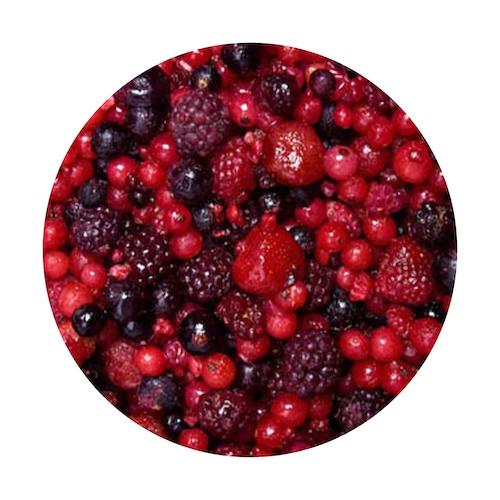 Mrazená zmes lesného ovocia VIKING FROST 2,5kg 1