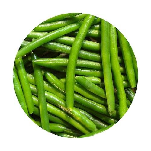 Mrazené fazuľové struky celé VIKING FROST 2,5kg 1
