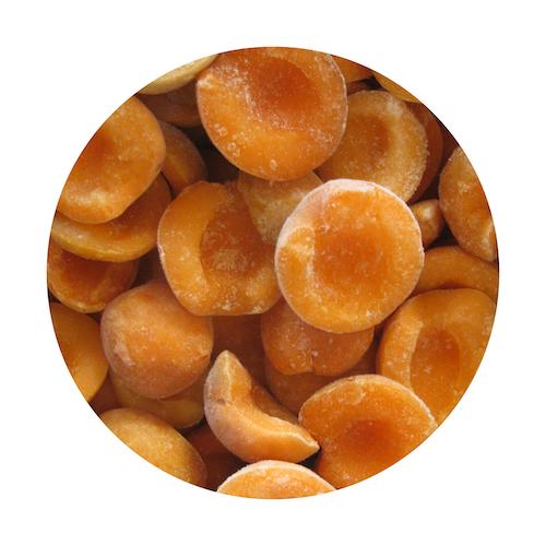 Mrazené marhule polené VIKING FROST 2,5kg 1