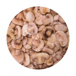 Mrazené šampiňóny krájané VIKING FROST 2,5kg 7