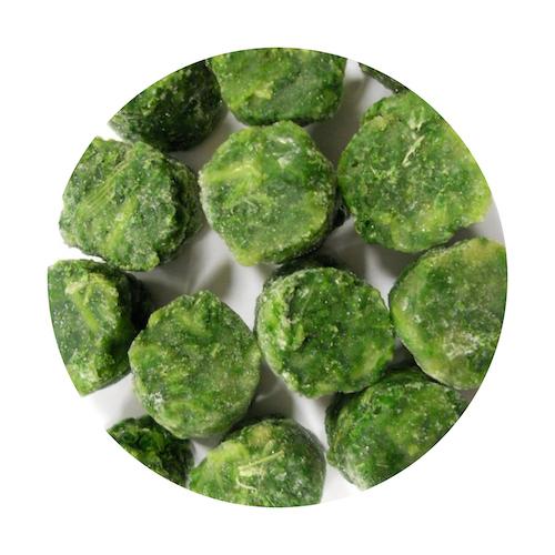 Mrazený špenát listový VIKING FROST 2,5kg 1