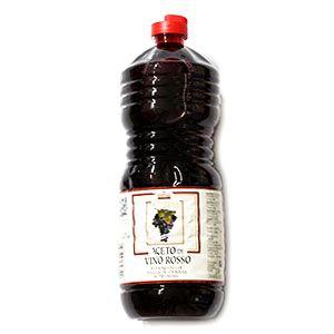 Ocot vínny červený VARVELLO 1l plast 1
