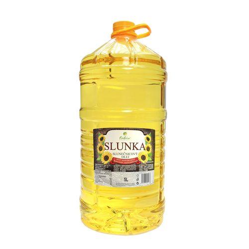 Olej Slnečnicový SLUNKA 5l 1
