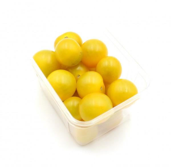 Paradajky Cherry žlté kal. 20-25 250g ,I.Tr 1