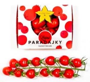 Paradajky Cherry Sunstream kal.30-35 300g SZ.,I.Tr 13