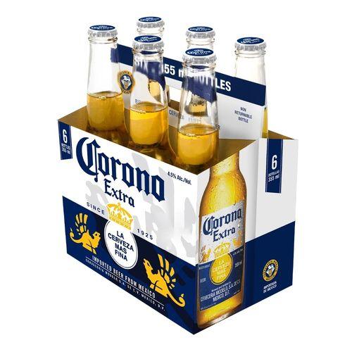 Pivo CORONA EXTRA 4,5% 355ml x 6ks bal. VÝPREDAJ 1