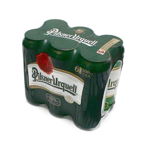 Pivo Pilsner Urquel 12% 0,5l plech 6ks balenie 1