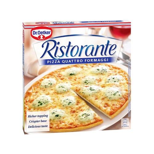 Pizza RISTORANTE Quattro Formaggi mrazená 340g 1