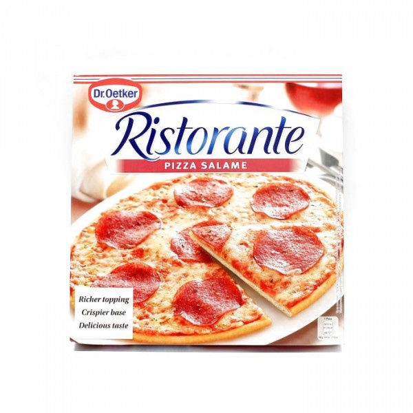 Pizza RISTORANTE Salámová mrazená 320g 1