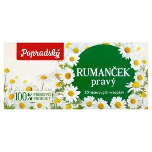 Popradský Rumanček pravý bylinný čaj 20x1,2g 3