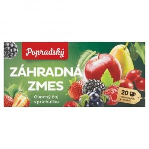 Popradský Záhradná zmes ovocný čaj s prích. 20x2g 3