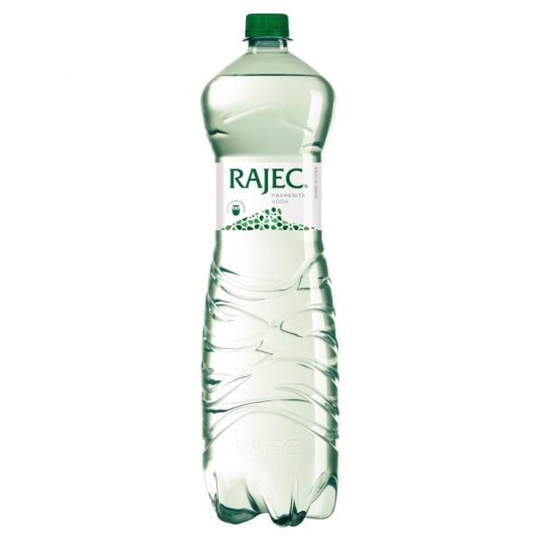 Rajec Pramenitá voda jemne sýtená 1,5 l 1