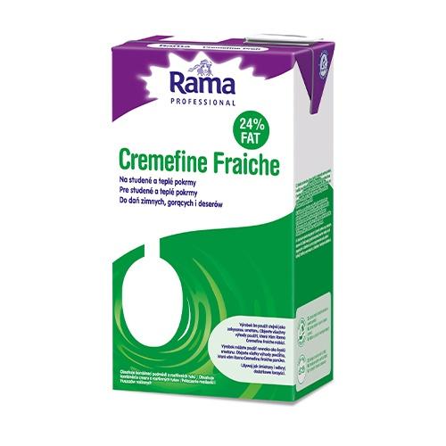 Smotana Cremefine fraiche RAMA 24% 1l 1